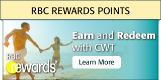 RBC ReWards Points | Earn and Redeem with CWT. Learn More