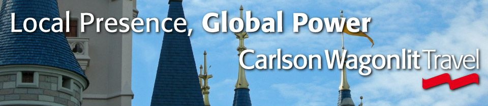 Local Presence, Global Power | Disney castle