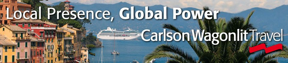 Local Presence, Global Power | cruise ship in the tropics